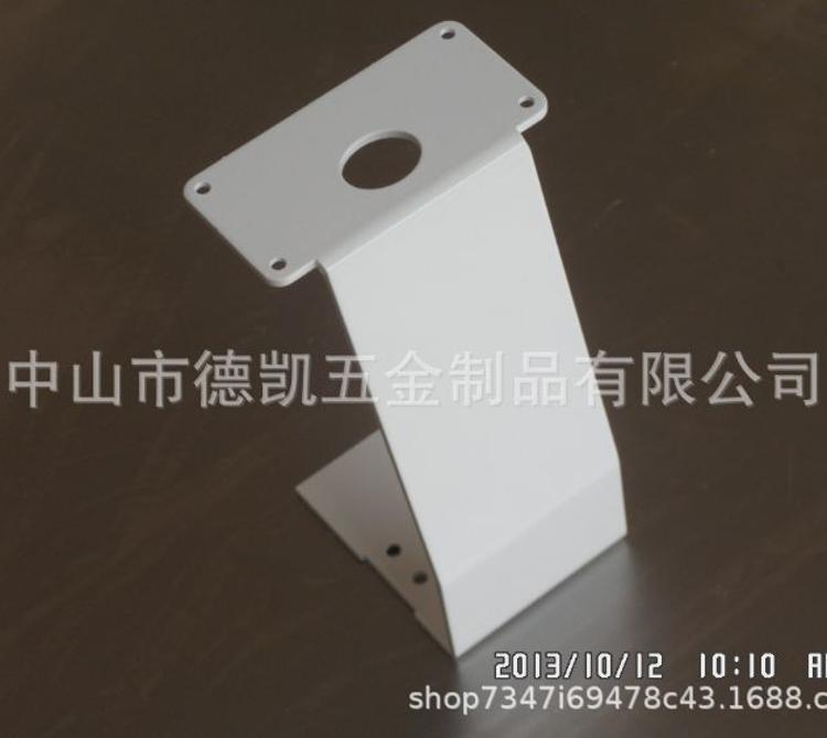 五金加工 定制冲压件 铝制品喷油定制手机支架