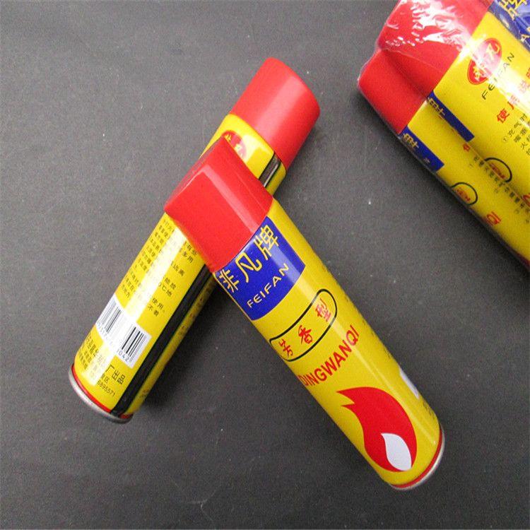 打火机通专用小瓶气体 80克l丁烷气体 便宜好用义乌2元店货源
