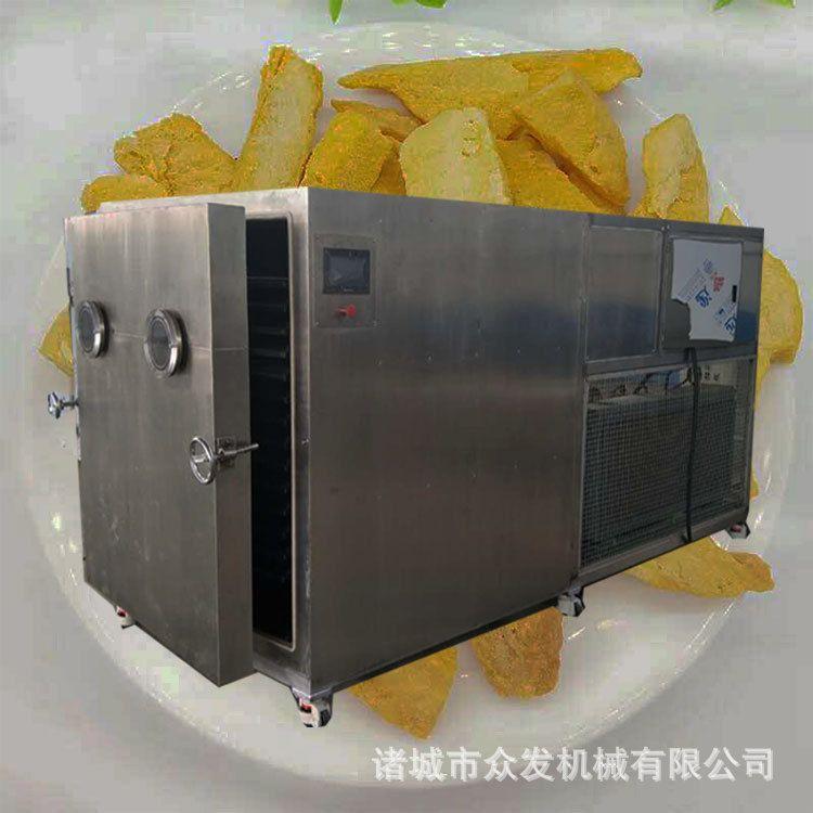 全自动果蔬真空冻干机食品药材低温冻干机哈密瓜冻干机带托盘