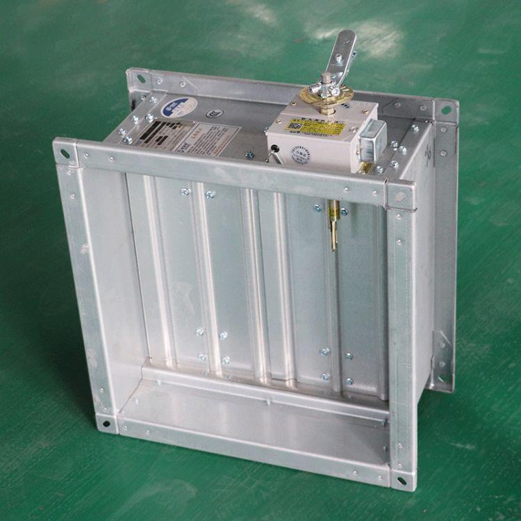 厂家生产70℃防火阀 280℃防火阀 手动风量调节阀直销