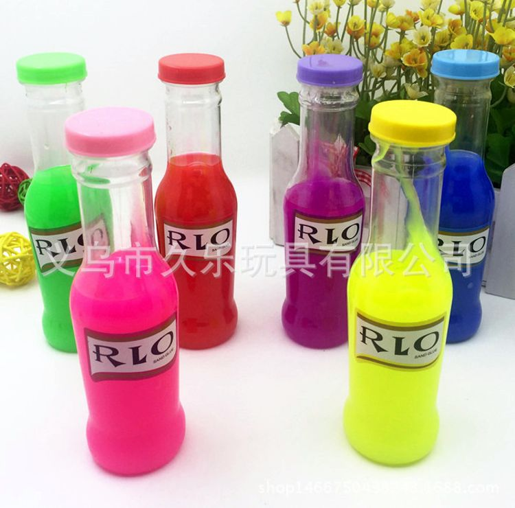 厂家直销外贸鸡尾酒RIO沙皮胶鼻涕泥鬼口水整人玩具 韩国创意文具