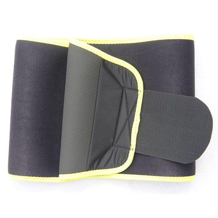 2018年新款热压彩色护腰带四季保暖腰疼健身运动保健腰托绑带