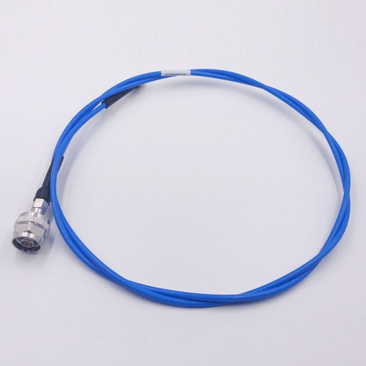 5G测试射频线蓝色半柔N头转SMA头RG402 测试线射频同轴线厂家直供