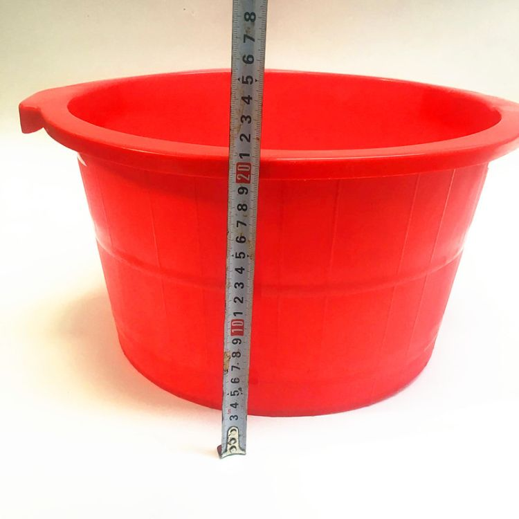 加深加厚按摩足疗仿木桶泡脚桶塑料家用足浴盆足疗店用品厂家批发