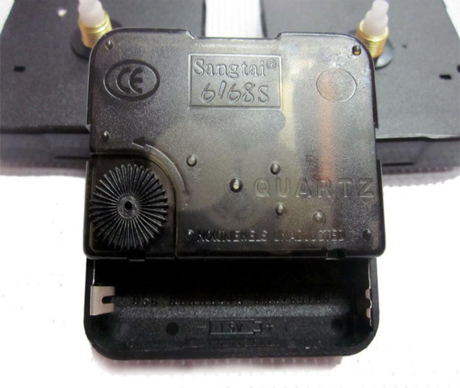 十字绣表芯钟芯批发 装裱静音机芯6168S 桑泰一年包换 一秒级
