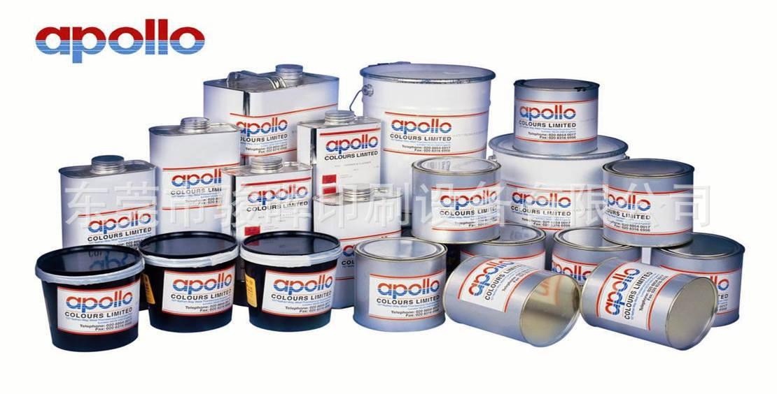 英国阿波罗油墨 C系列高耐磨耐酒精五金玻璃丝印油墨
