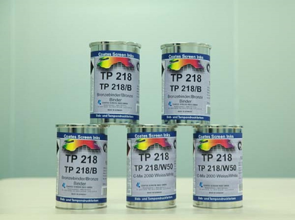 德国Coates高氏油墨 TP218GL高耐磨水龙头电镀面移印油墨