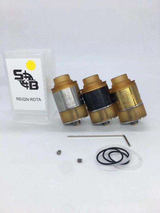 电子烟新款 Reign RDTA机械储油雾化器 大烟雾SOB PEI滴嘴