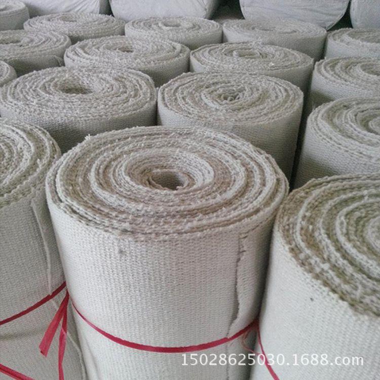 厂家直销陶瓷纤维布 高温防火布 耐火陶瓷绳带