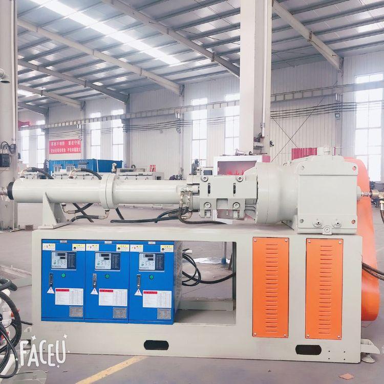 新创意厂家定制75型冷喂料橡胶挤出机密封条销钉式橡胶挤出机