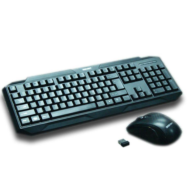 定制LOGO防水键鼠套装无线 Keyboard gaming无线单键盘电脑配件