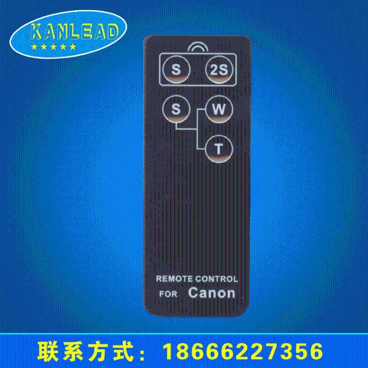厂家供应 超薄相机红外遥控器 相机遥控器批发