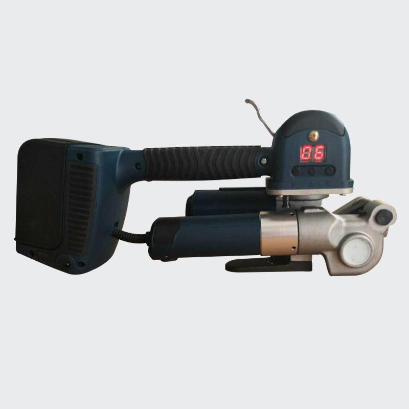 厂家现货 19便携小型手提式电动打包机 手持热熔打包机 pet塑钢带
