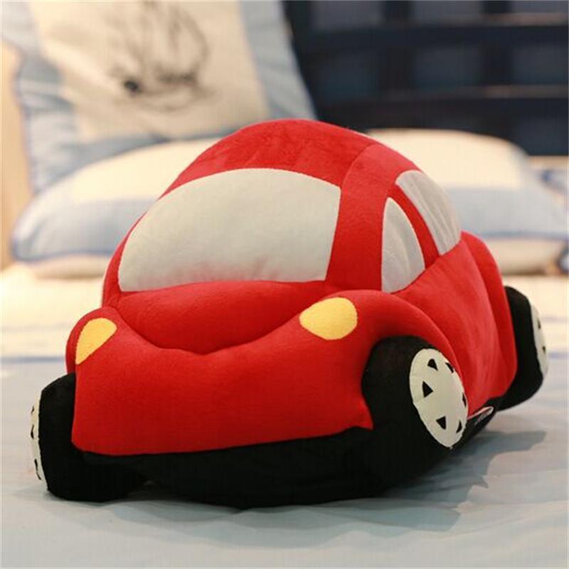 仿真甲壳虫小汽车抱枕儿童毛绒玩具 创意沙发靠垫男生日礼物新品