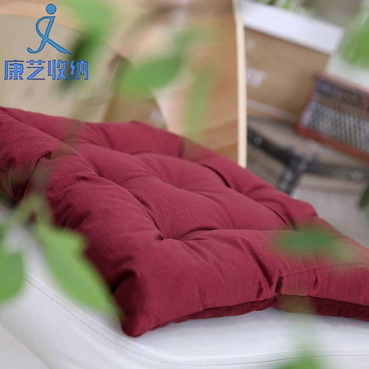 秋冬加厚新款 榻榻米坐墊 椅子座墊冬座椅墊學生坐墊沙發墊子布藝