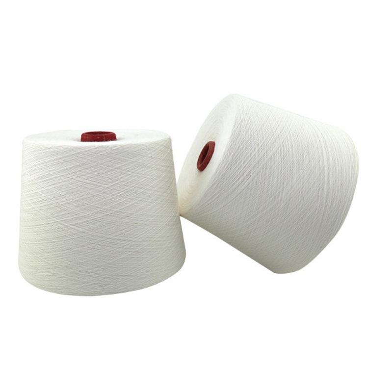 纯粘胶纱30支32支 环锭纺人棉纱30支32支 条干好 毛羽少 强力高