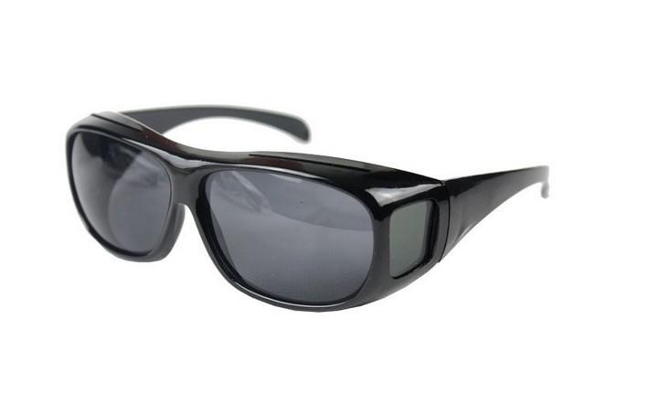 太阳镜多功能眼镜夜视镜防护风沙套镜HD Vision Wrap Arounds TV