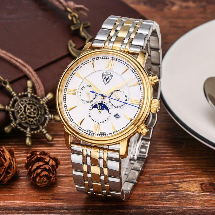 热卖爆款新品手表时尚潮流全自动机械表男表镂空方形大表盘腕表