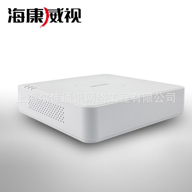 海康威视DS-7104N-F1/4P 4路高清数字网络硬盘录像机NVR poe供电
