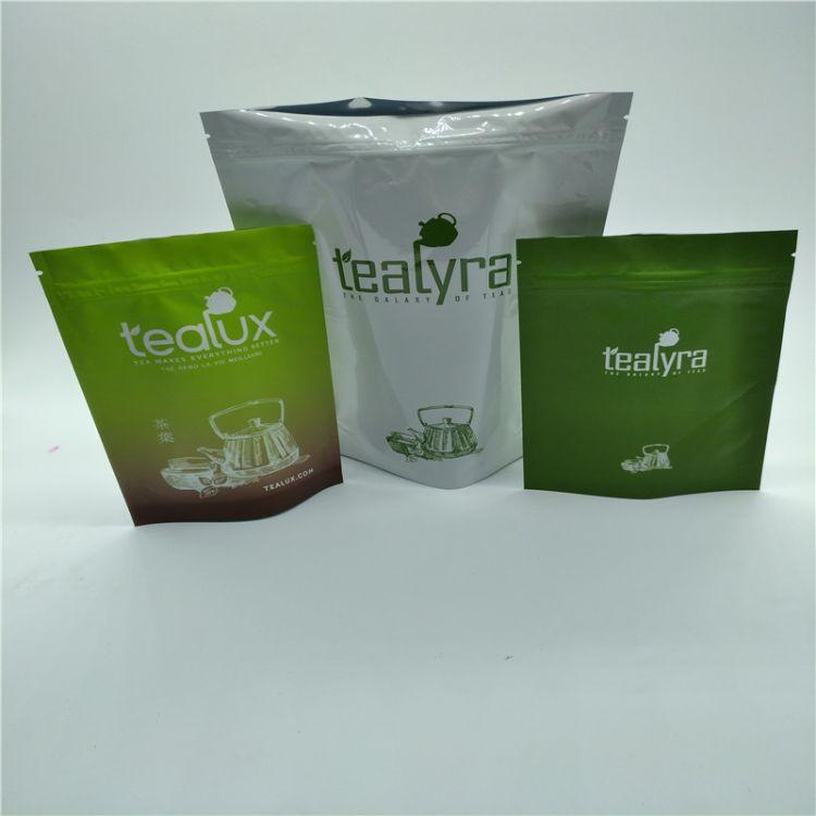 茶叶袋 塑料食品自立袋防潮食品密封袋工厂直销