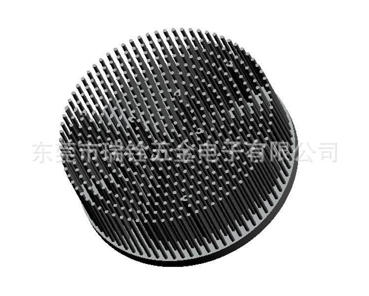 厂家供应圆柱冷锻散热器 30W 40W 50W 80WLED散热器