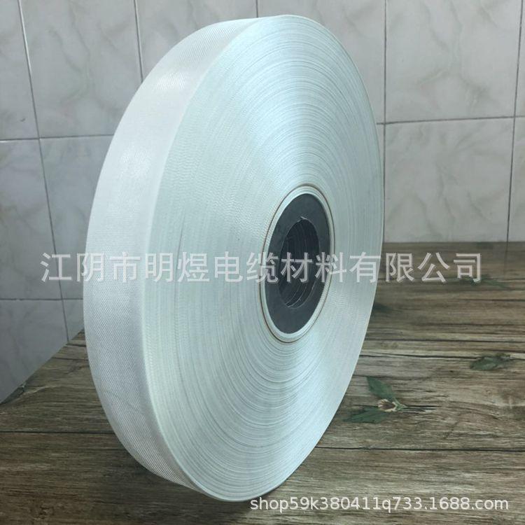 高阻燃无碱玻纤带 厚度0.17 加工定制 厂家直供 明煜电缆材料 价