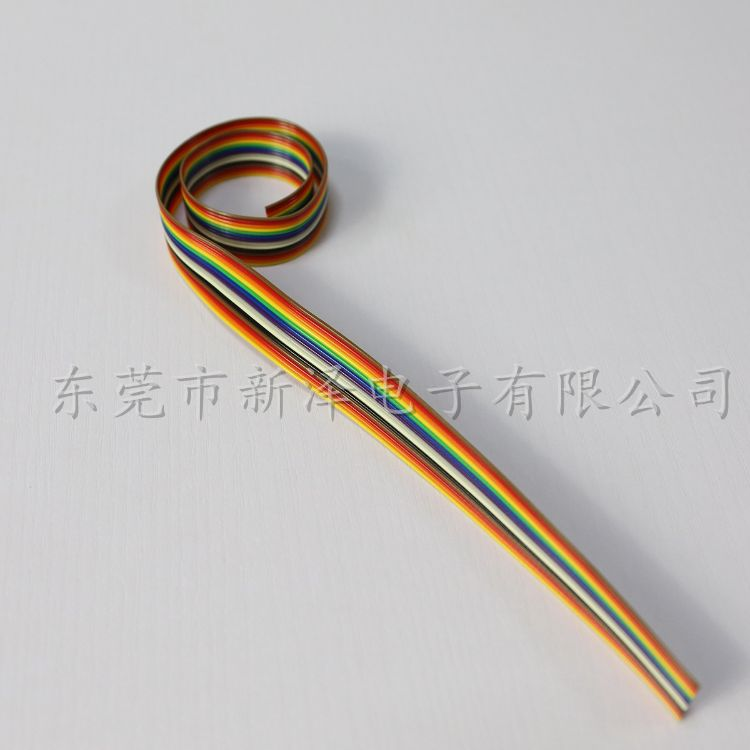 OKI彩排线 14P排线,灰排线,彩排线,彩虹排线,彩色排线14P