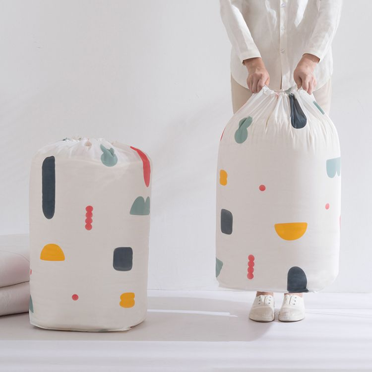 PEVA大号防潮棉被收纳袋 被子衣服收束口整理袋 搬家打包袋家用