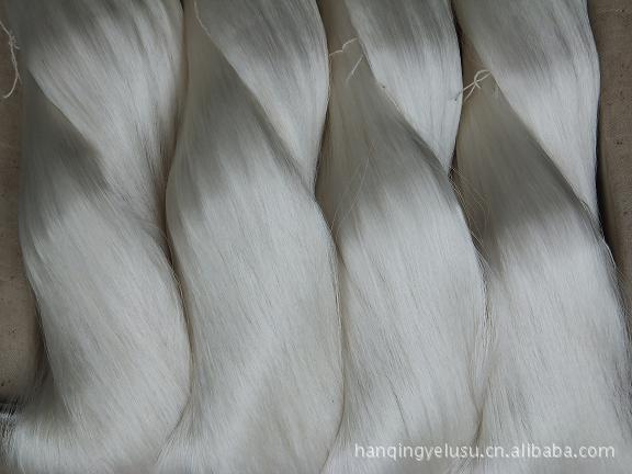 优质白厂丝(生丝) 山东潍坊厂家直销  桑蚕丝 价格优惠