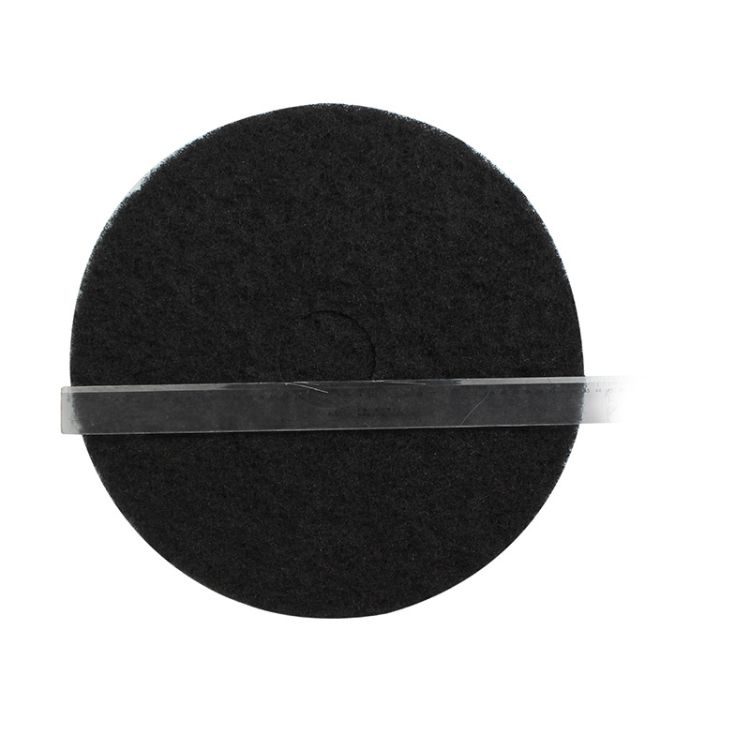 3M 7200 加厚型日常起蜡重垢清洁黑色起蜡垫(20英寸)