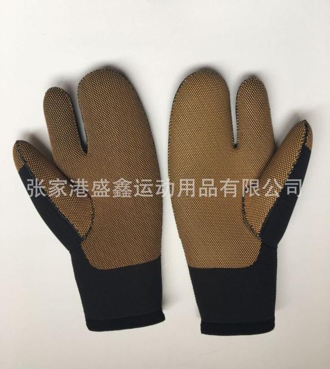 厂家直销潜水料手套粘合手套钓鱼手套防水防滑手套