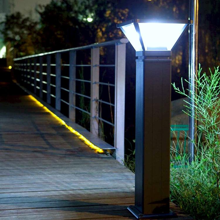 生产压铸铝太阳能草坪灯 景观庭院草地灯 户外家用防水LED草坪灯