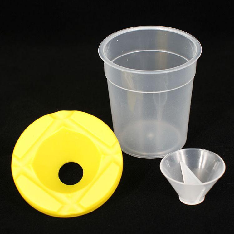 防倒出 创意美劳DIY儿童洗笔杯美劳杯调色杯颜料杯绘画 手工配件