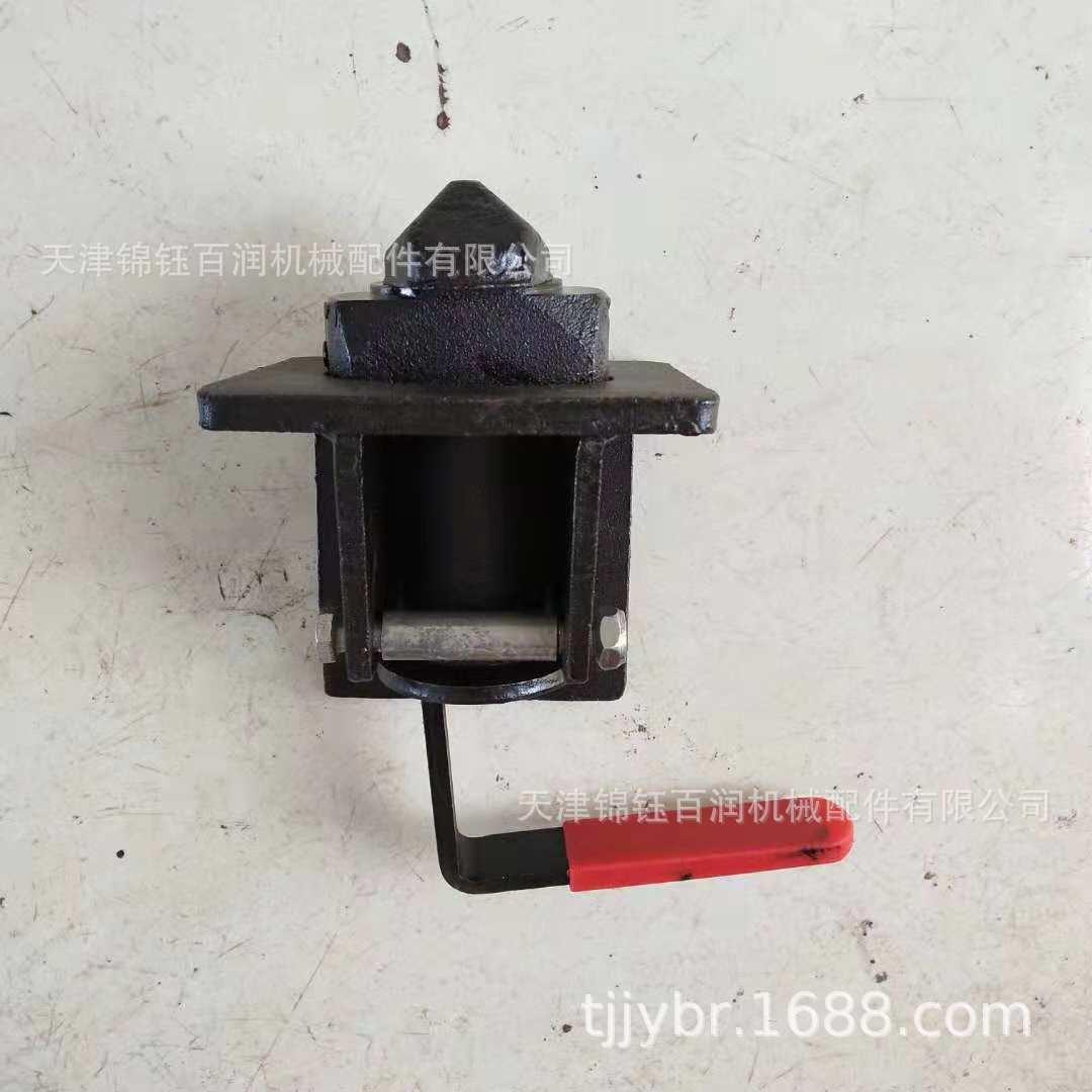 集装车旋转锁集装箱角锁Container Lock拖车扭锁集装箱固定装置
