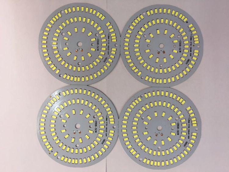 各种LED光源板铝基板玻纤板电路板FR4PCB线路SMD空板贴片订制现货