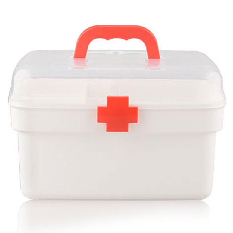 家庭小箱多层急救箱家用塑料儿童塑料箱便携式收纳箱可以定制