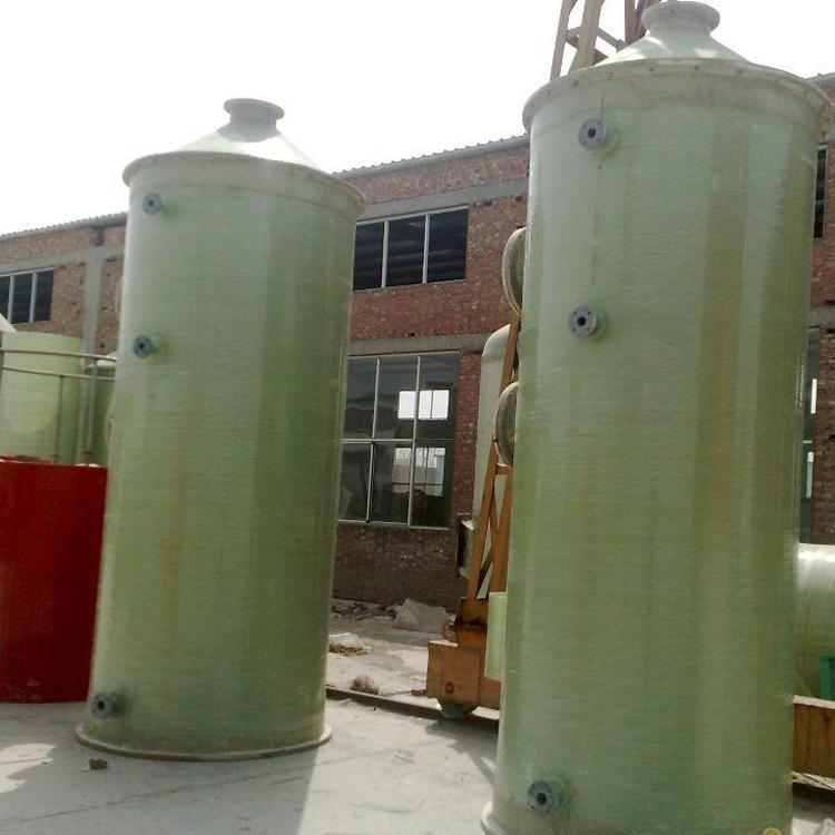 砖厂脱硫塔玻璃钢酸雾净化塔尾气吸收塔酸雾净化塔喷淋塔管道