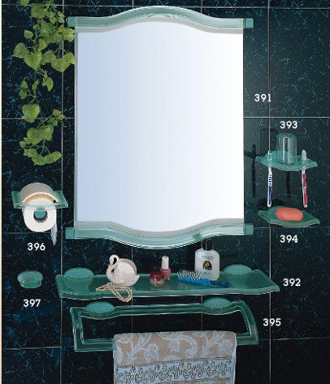 批发卫浴挂件镜子套装毛巾杆纸巾盒置物架牙刷盒肥皂架可定制