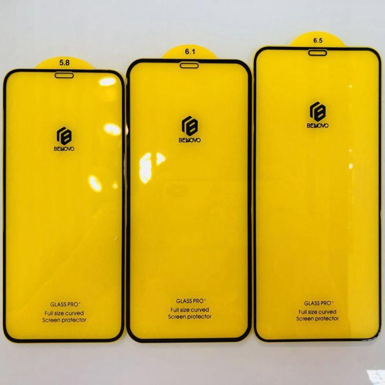 BENOVO苹果XR钢化膜2.5D全覆盖手机膜iPhoneXS Max二强防爆玻璃膜