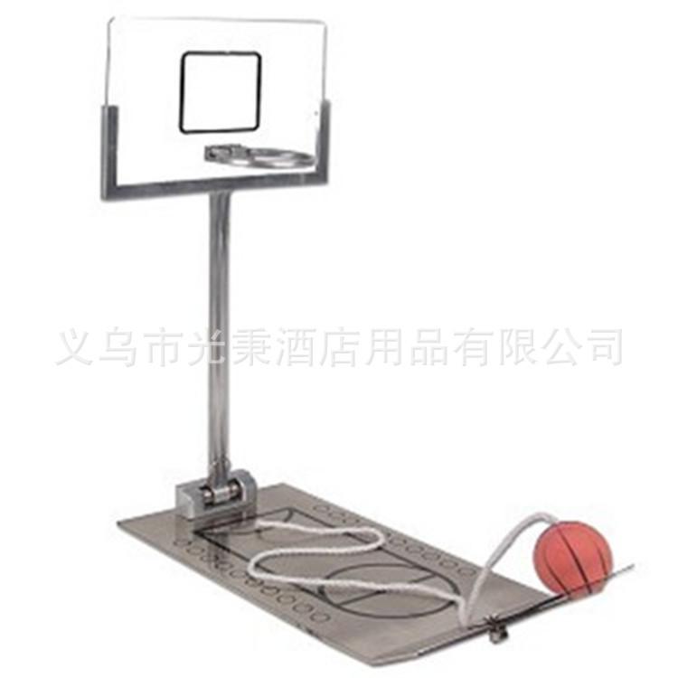 铁制台式折叠篮球机桌面掌上迷你投篮机Miniaturebasketball