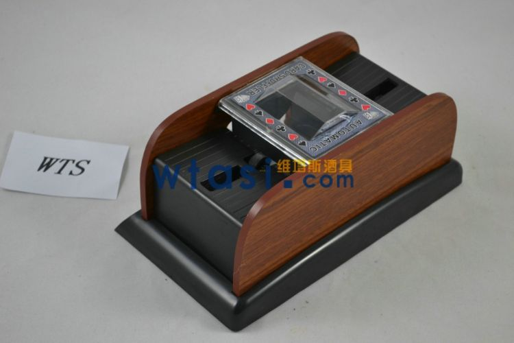 木制二副洗牌机