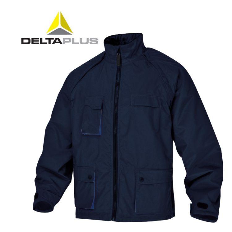 代尔塔405116-405308套装冬季上班防雨透气男士劳保衣服加绒新