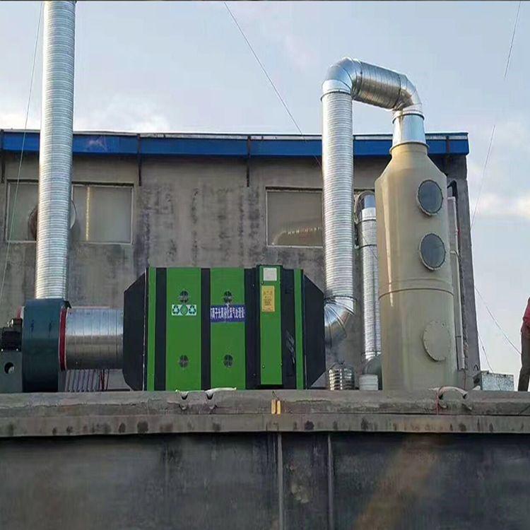 鹏龙厂家直销UV光氧催化废气处理环保设备 净化器等离子一体机 活性炭吸附箱除臭