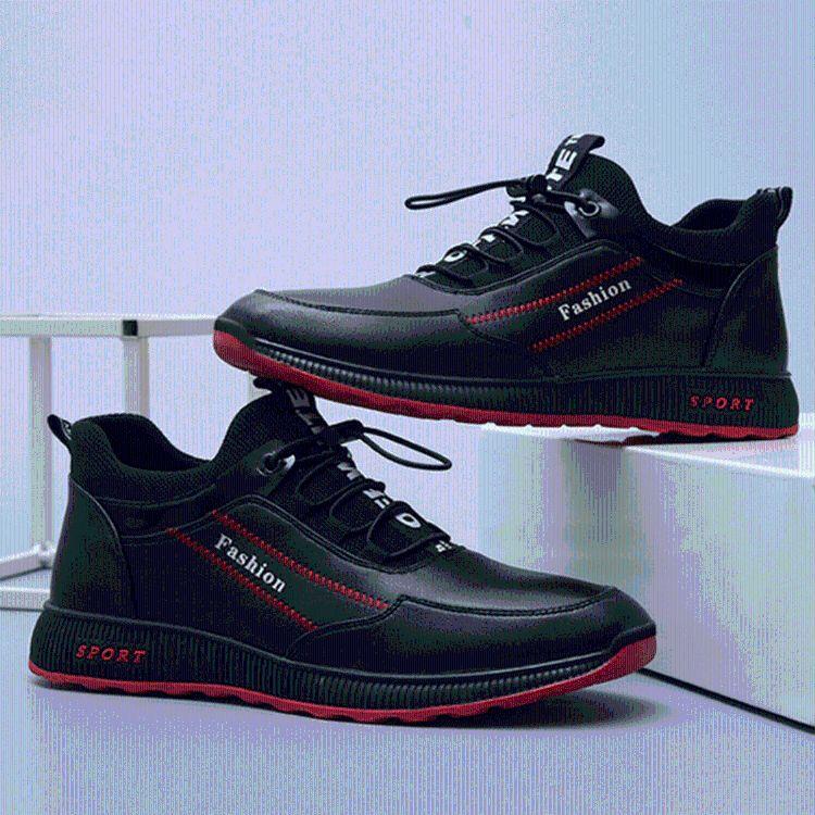 商务休闲鞋新款时尚潮流男鞋单棉可选男式运动鞋现货批发可定制