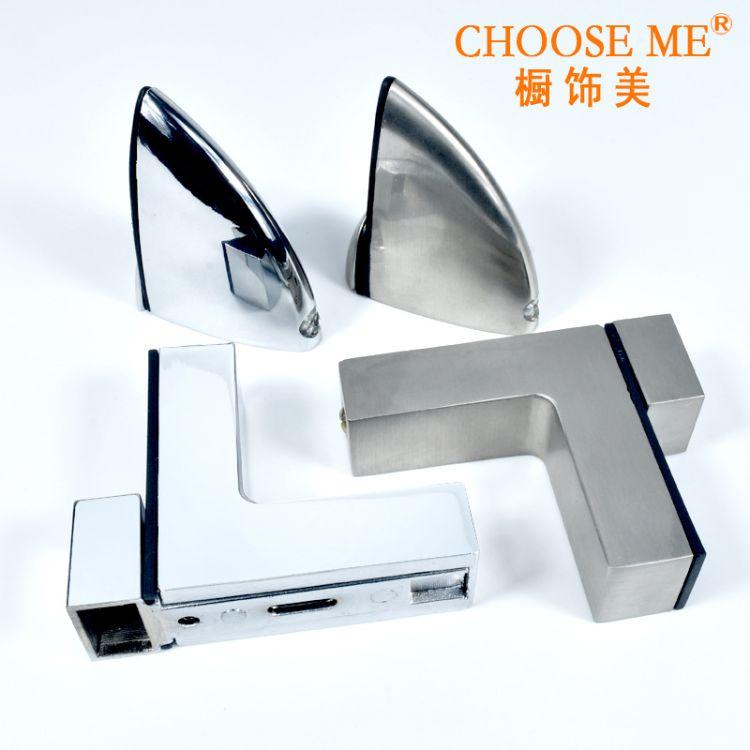 合金玻璃门夹玻璃层板门夹玻璃鱼嘴门夹玻璃夹锌合金自动门夹