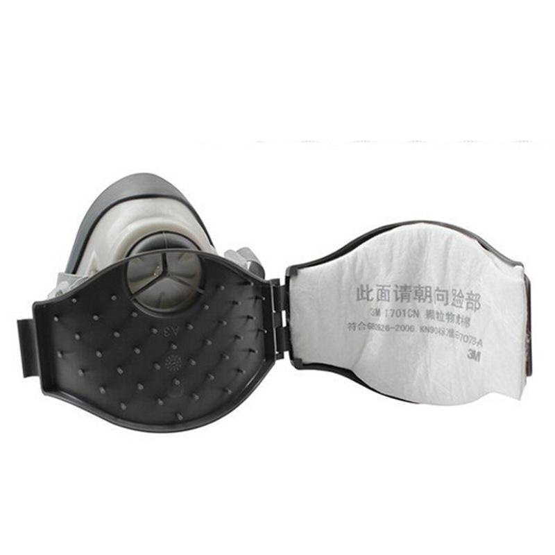3M 1213 防颗粒物防尘半面罩呼吸防护套装(头架版)