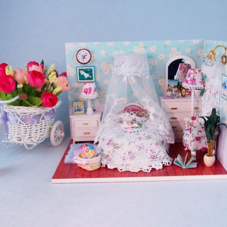 创意礼品diy艺术屋(M006)公主物语木质玩具建筑工艺模型礼物批