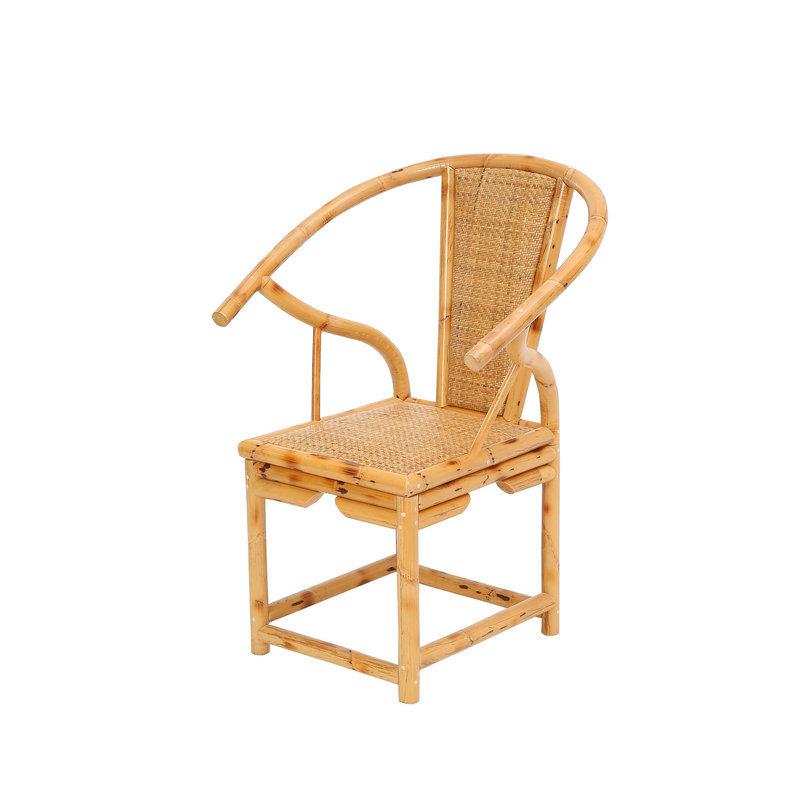 昌盛藤器 JS茶台椅  新中式围椅中式实木椅 实木茶桌 茶几茶台椅组合