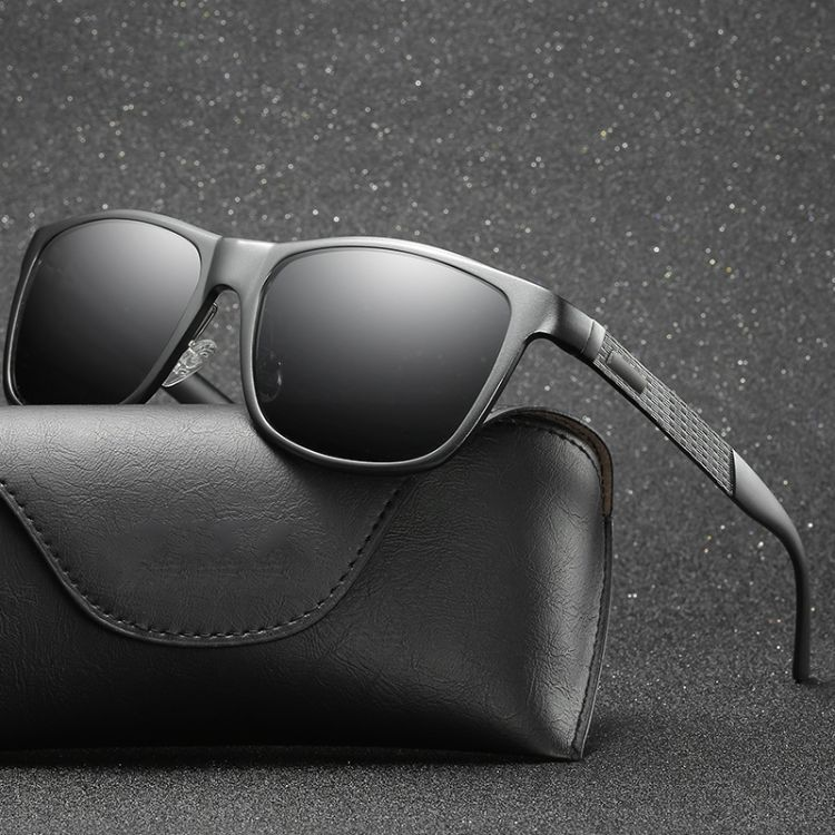 2018新款墨镜时尚男士铝镁合金偏光太阳镜全框个性墨镜