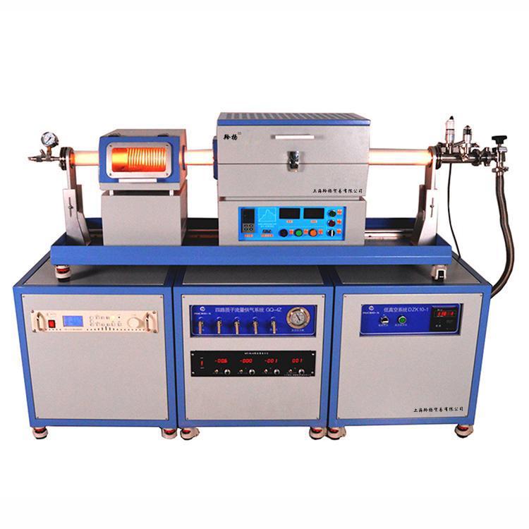 石墨烯等薄膜行业用1200度滑轨式等离子增强化学气相沉积炉系统